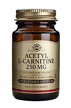 Acetyl-L-Carnitine 250mg 30 caps