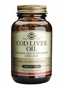 Cod Liver Oil softgels 100s
