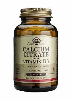 Calcium Citrate 250mg  with Vitamin D3 tablets 60s