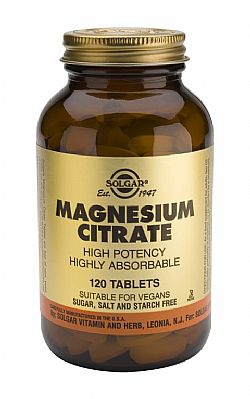 Magnesium Citrate 200mg tablets 120s
