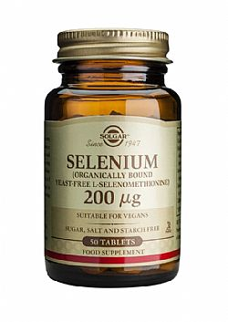 Selenium 200mg (yeast-free) tablets 50s