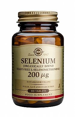 Selenium 200mg (yeast-free) tablets 100s