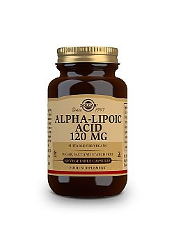Alpha Lipoic Acid 120mg veg.caps 60s
