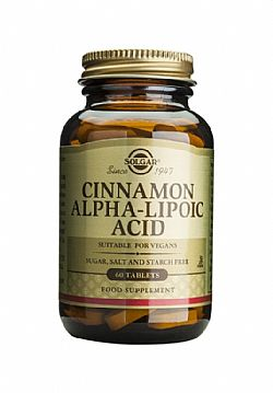 Cinnamon-Alpha Lipoic Acid tablets 60s