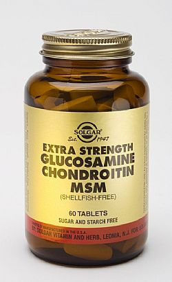 Extra Strength Glucosamine  Chondroitin MSM tablets 60s