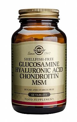 Glucosamine - Hyaluronic Acid -  Chondroitin - MSM tablets 60s