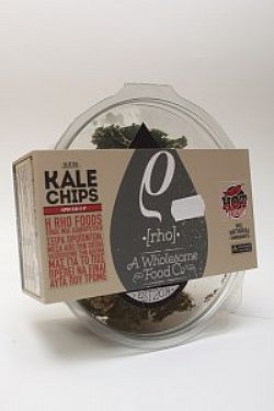 Raw Kale Chips Spiced Up- Ωμά τσιπς από κέιλ- Rho Foods 35gr