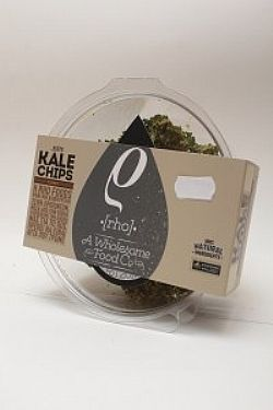 Raw Kale Chips Curry- Ωμά τσιπς από κέιλ- Rho Foods 35gr