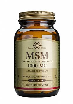 MSM 1000mg tablets 60s