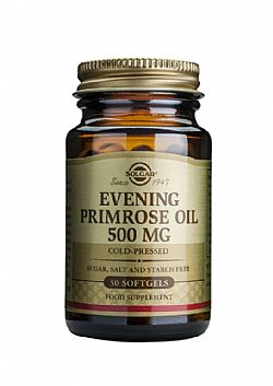 Evening Primrose Oil (cold pressed) 500mg softgels 30s