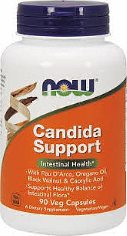 CANDIDA SUPPORT - 90 Vcaps NOW