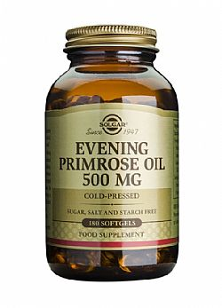 Evening Primrose Oil (cold pressed) 500mg softgels 180s