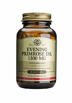 Evening Primrose Oil (cold pressed) 1300mg softgels 30s