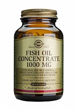 Fish Oil Concentrate 1000mg softgels 60s