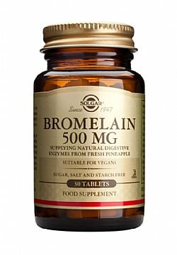 Bromelain tablets 500mg 30s