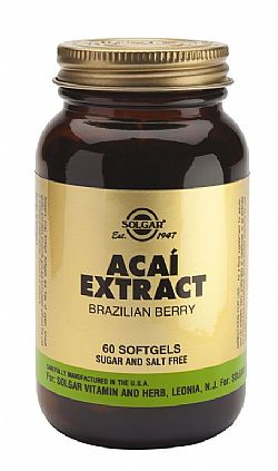 Acai Extract softgels 60s (Brazilian Berry)