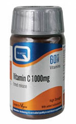 VITAMIN C 1000mg timed release 60s+30s δώρο