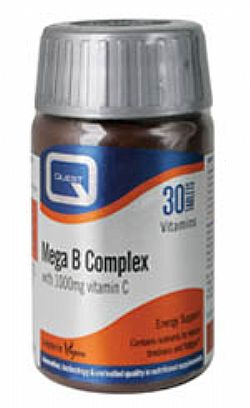 MEGA B COMPLEX plus 1000mg vitamin C 30s+15s δώρο