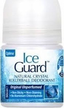 Optima Ice Guard Unperfumed Deodorant Rollerball 50ml