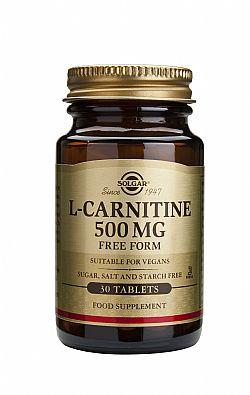 L-Carnitine 500mg tablets 30s
