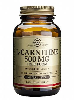L-Carnitine 500mg tablets 60s