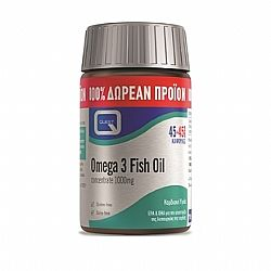OMEGA 3 fish oil concentrate 1000mg 45s