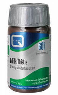 MILK THISTLE 150mg extract eq. to 7500mg 60tabs