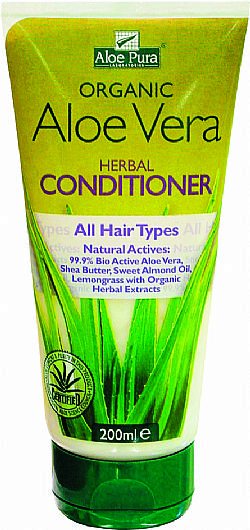 Organic Aloe Vera Herbal Conditioner 200ml
