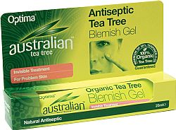 Antiseptic Tea Tree Blemish Gel 25ml