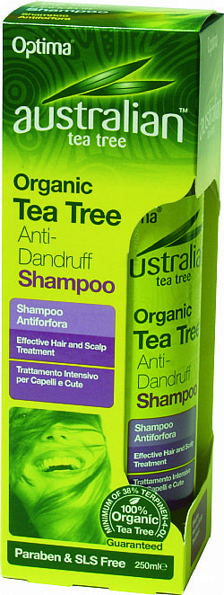 Organic Tea Tree Anti-Dandurff Shampoo 250ml