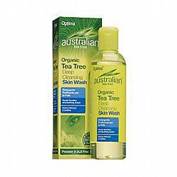 Organic Tea Tree Deep Cleansing Skin Wash 250ml