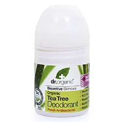 Organic Tea Tree Deodorant 50ml